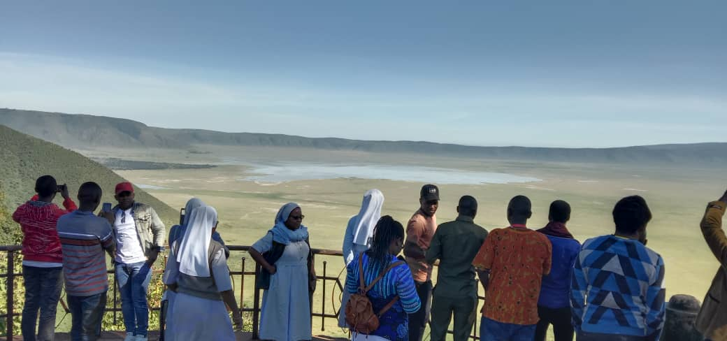 Ngorongoro crater view point
