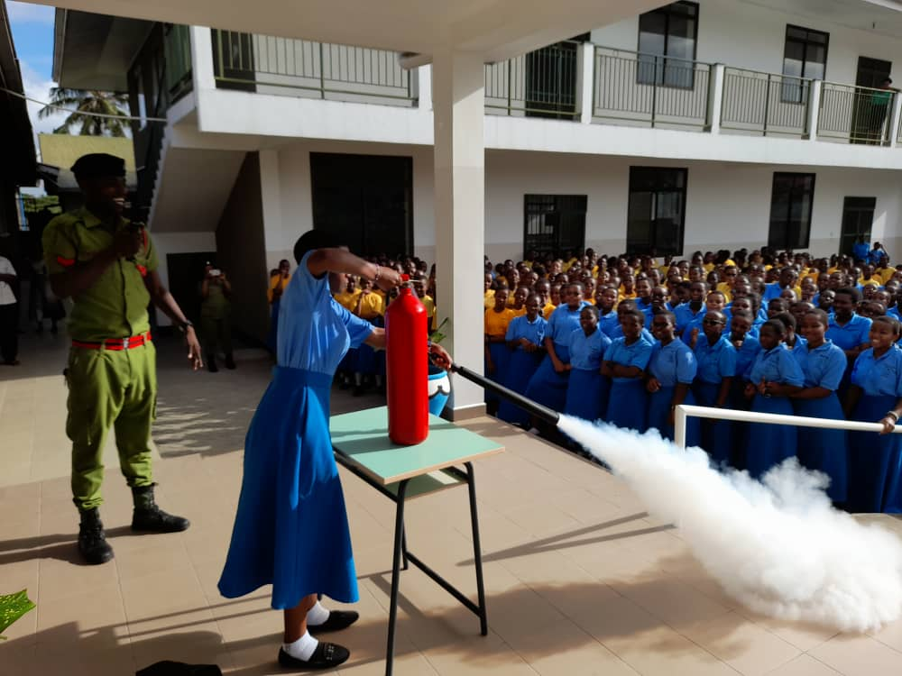 Semina on Fire extinguishing